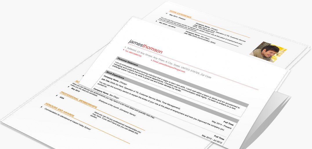 Download and Print Resume